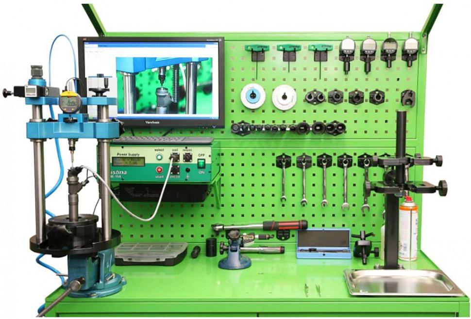 Комплекс для ремонта и регулировки электромагнитных форсунок системы CR — CRistina